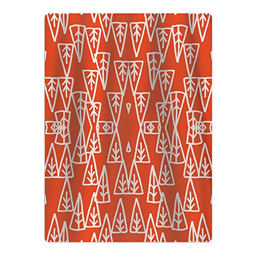 Holiday Trees Orange Xmas Holiday Beach Towel Yoga Mat Picnic Mat Shower Towel (Tree Christmas Mat Ultra-absorbent)
