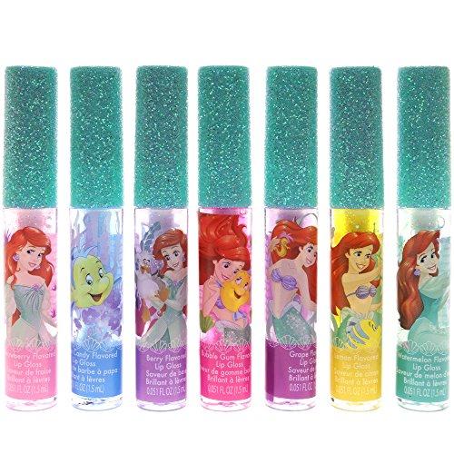 TownleyGirl Ariel Super Sparkly Lip Gloss Set, 7 CT