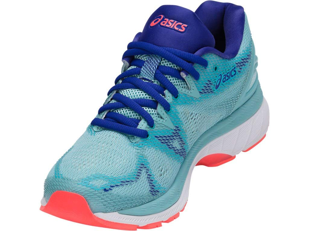 ASICS Women's Gel-Nimbus 20 Running Shoe porcelain blue/white/asics blue, 5 Medium US by ASICS (Image #2)