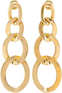 Venus Accessories Gold Plated Alloy Dangle Earrings