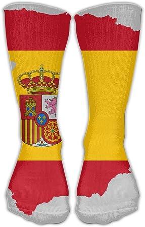 España mapa bandera amarillo redsoft cálido calcetines para ...