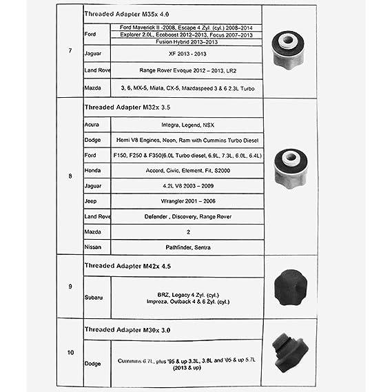 Festnight 15 unids Motor de Coche Kit de Embudo de Aceite Kit de Herramientas de Filtros de Aceite A Prueba de Derrames Universal Sistema de Llenado del Dispositivo