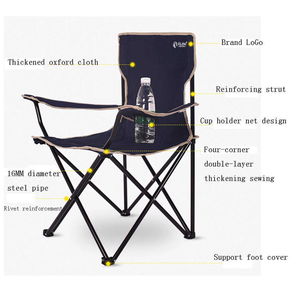 GOSTAR Portable Folding Stools Outdoor Retractable Stool Chairs Collapsible Stools for Fishing BBQ Travel Hiking