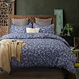 Colourful Snail 100-Percent Cotton Well Designed Floral Classical Pattern Duvet Cover Set, Antique Style, Paisley Medallions, Ultra Soft and Easy Care, Queen/Full
