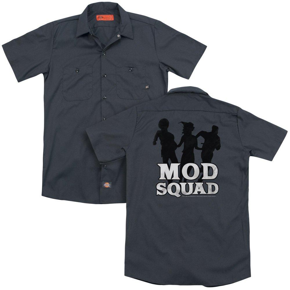 Mod Squad Mod Squad Run Simple Adult Work Shirt