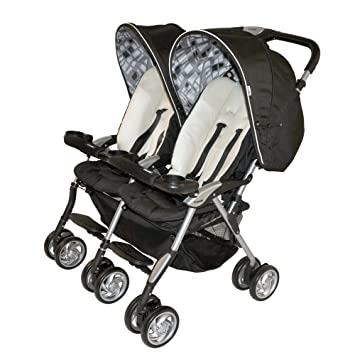 Amazon.com : Combi Twin Sport 2010 Side by Side Double Stroller ...