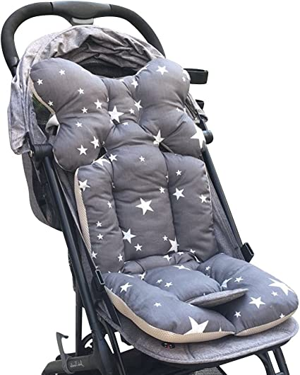 Baby Stroller//High Chair Seat Cushion Cover Breathable Zoo