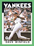 Dave Winfield 1986 Topps Card **Hall of Famer** (Yankees) (Padres) (Twins)