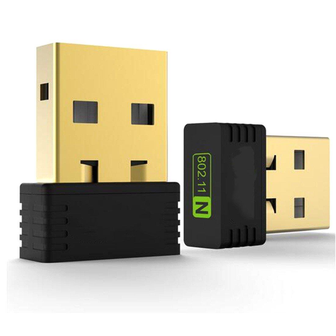 MRLIFY Adaptateur WiFi USB sans Fil Wi-FI 150Mbps Adaptador Adaptateur WiFi Dongle Carte ré seau 802.11n / g/b LAN sans Fil Adaptateur WiFi avec antenne