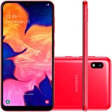 Smartphone Samsung Galaxy A10, 32Gb, Tela 6.2'', Vermelho, Sm-A105Mzrkzto