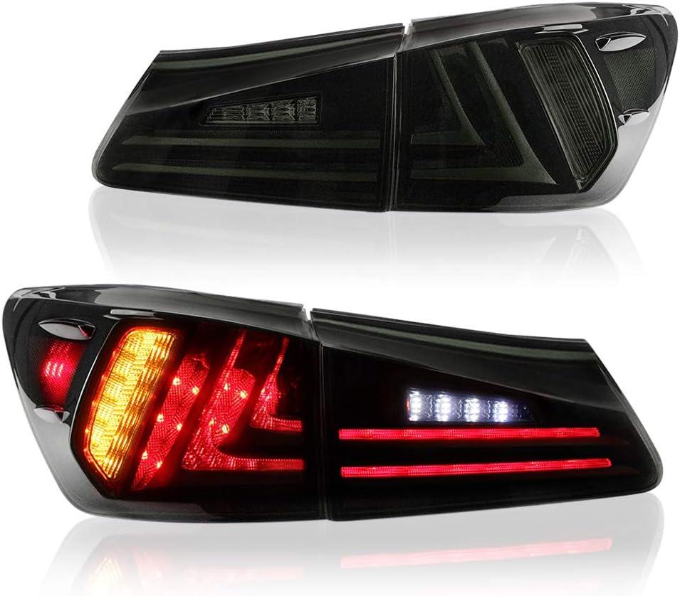 2 Pcs LED Tail Lights EU Version with Rear Signal Reverse Lamp Daytime Running Lights Brake Rear Light Rear Reverse Lights DRL /&Turn Signal /& Back Up