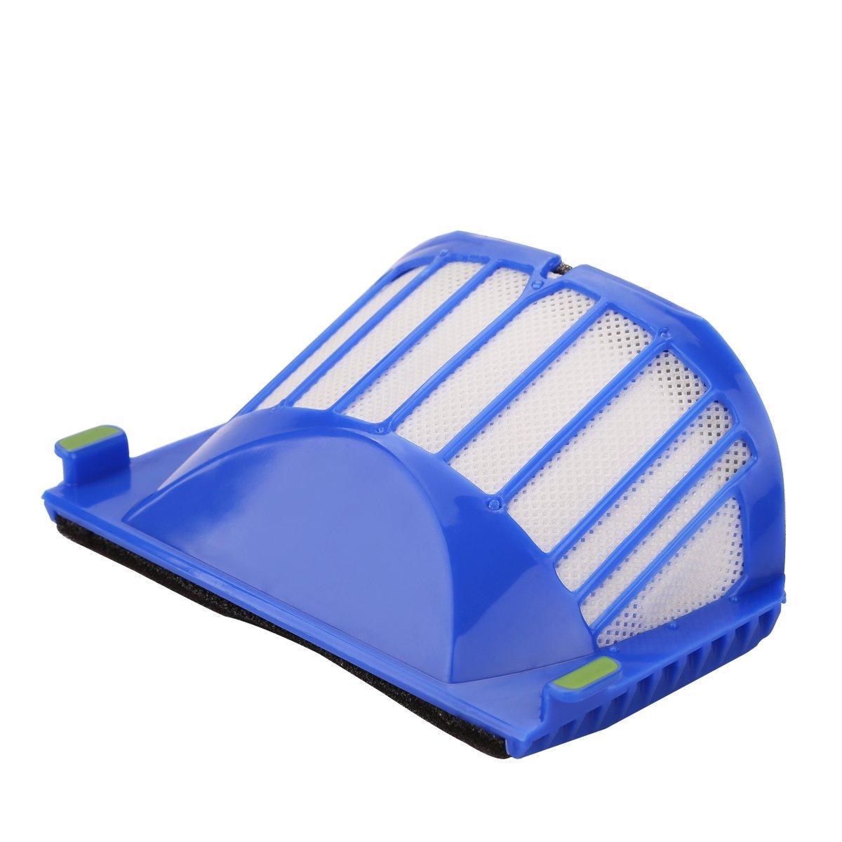 POWER-XWT Filtro de Reemplazo para IRobot Roomba 600 Serie 605 620 630 632 650 651 660 Accesorios de Repuesto Paquete de 10