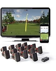 R-Motion home golf simulator + 14 Club Attachments