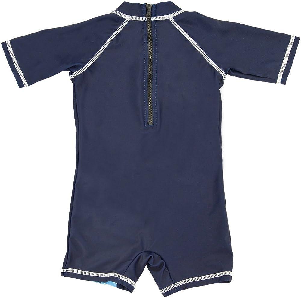 Baby Boys One-Piece-Swimsuit Sun Protective-Sunsuit Swimwear