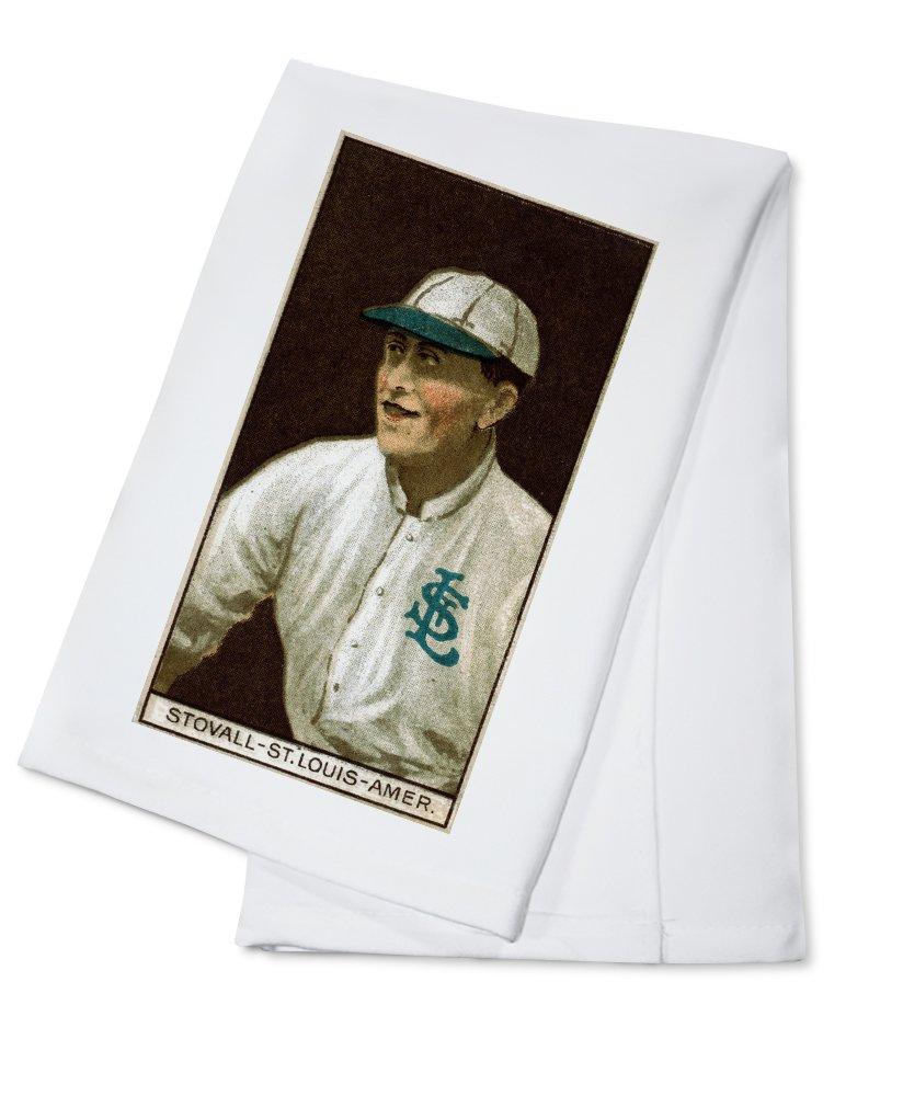セントルイスBrowns – ジョージStovall – 野球カード Cotton Towel LANT-23107-TL Cotton Towel  B0184BAHDQ