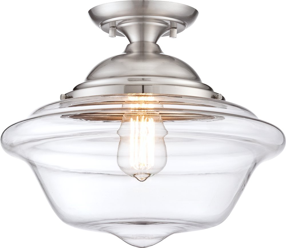 mini pendant shown inch lighting cfm glass elk bronze item magnifying in finish light ceiling oiled schoolhouse image wide