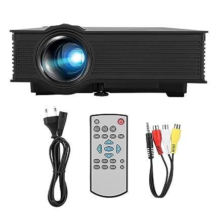 Proyector de cine en casa LCD LED Mini proyector Beamer WIFI ...