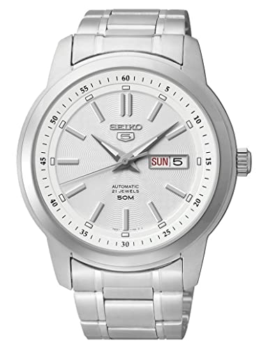 Seiko Reloj Análogo clásico para Mujer de Cuarzo con Correa en Acero Inoxidable SNKM83K1: Amazon.es: Relojes
