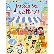 First Sticker Book At The Market