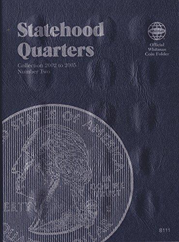 Whitman State Quarter Album (2002-2005 SIX-PACK 6 ea STATEHOOD QUARTER WHITMAN No 8111 TRIFOLD COIN; ALBUM, BINDER, BOARD, BOOK, CARD, COLLECTION, FOLDER, HOLDER, PAGE, PORTFOLIO, PUBLICATION, SET, VOLUME)
