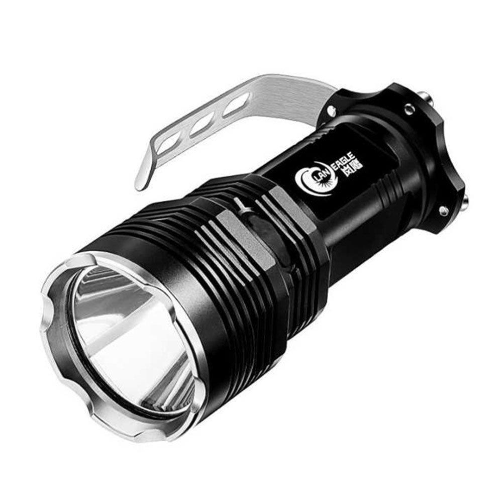 HUANGLP LED Taschenlampe Lantern,Rechargeable Scheinwerfer Hochleistungs Super Bright,10W Superhelle Jagd-Long-Range-Xenon-Lampe,Weiß