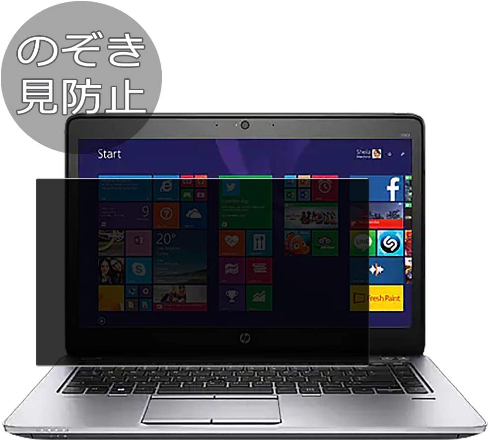 """Synvy Privacy Screen Protector Film for HP EliteBook 840 G1 14"""" Anti Spy Protective Protectors [Not Tempered Glass]"""