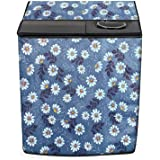 Stylista Washing Machine Cover Compatible for Samsung 7.2 kg WT725QPNDMP semi Automatic Printed Pattern