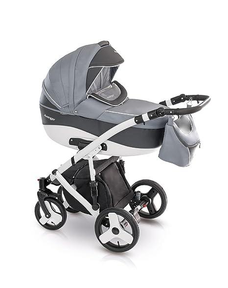 V-LUX4 Kids cochecito Juego Bañera Sport – Asiento de bebé para bolso cambiador Colchón