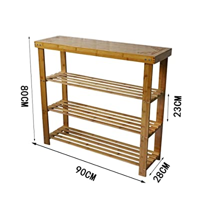 Stupendous 100 Bamboo Shoe Rack Bench 3 Tier Entryway Storage Ocoug Best Dining Table And Chair Ideas Images Ocougorg