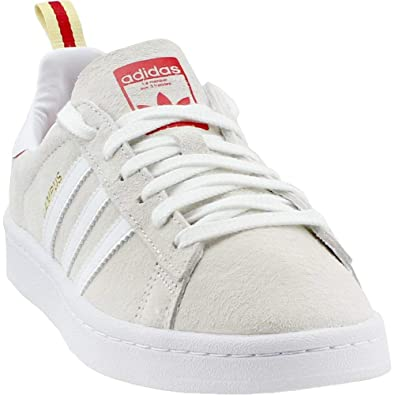 quality design 1d6e8 47aef adidas Mens Campus CNY Athletic  Sneakers White