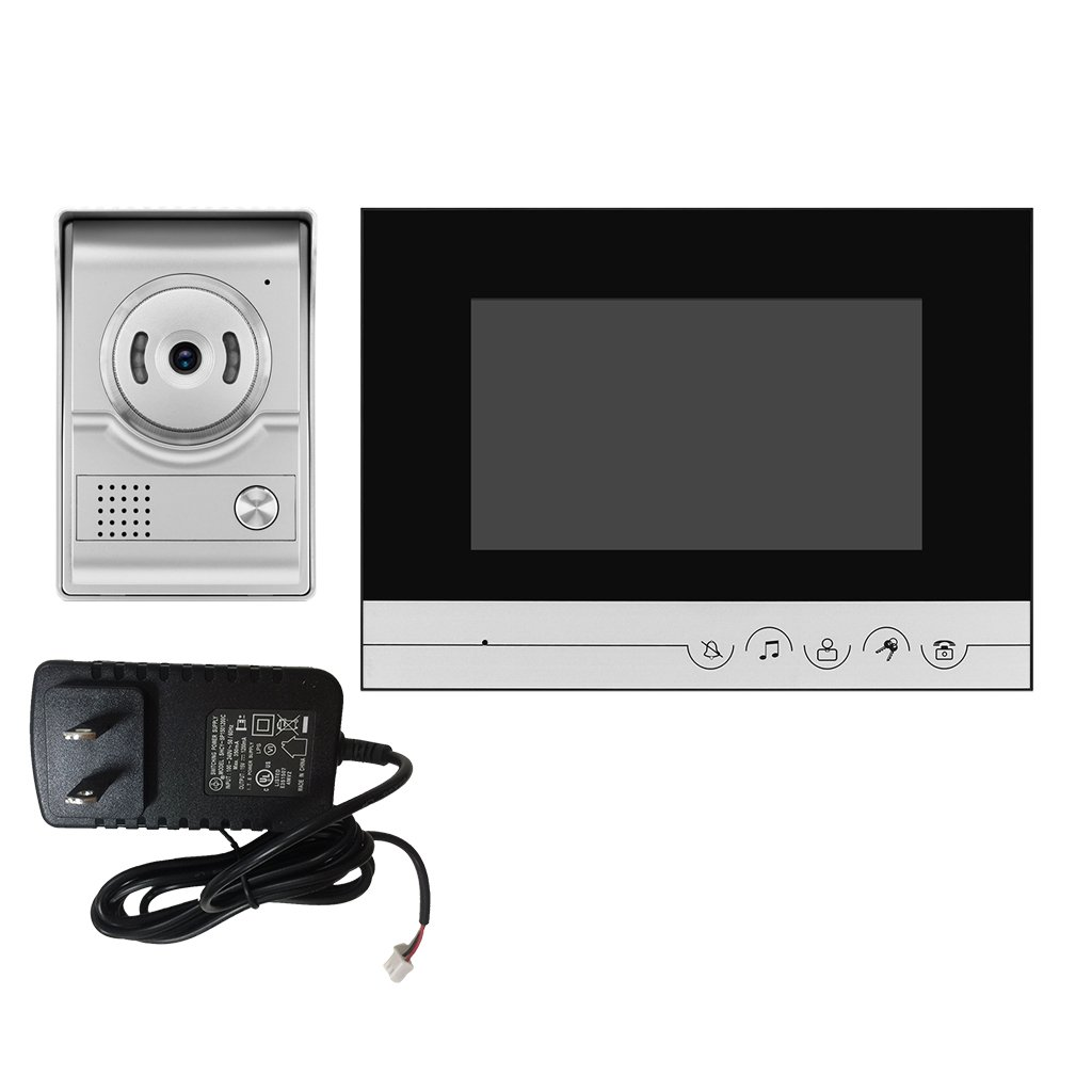 Perfk ドア インターホン セキュリティ 屋外カメラ ナイトビジョン 防雨 デザイン 全2色選べる 2# B0793XLVH2  2#