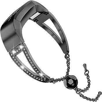 Amazon.com: Wearlizer Compatible Fitbit Alta y Alta Hr ...
