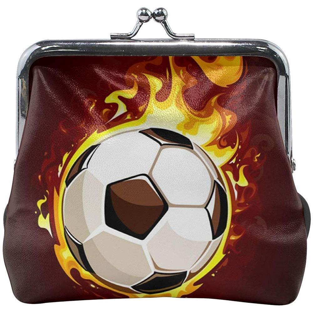 Balón de fútbol ardiente Cute Hebilla Monederos Monederos Hebilla ...