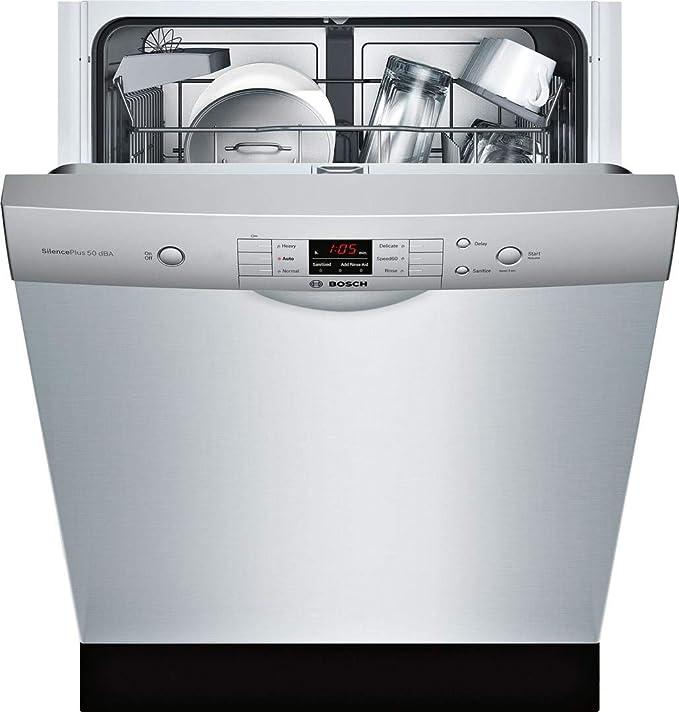 Amazon.com: Bosch - Lavavajillas de acero inoxidable serie ...