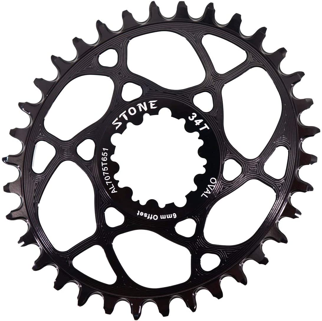 Oval Chainring Narrow Wide 6mm Offset For GXP xx1 eagle x01 X9 X1-1400,X0,X9