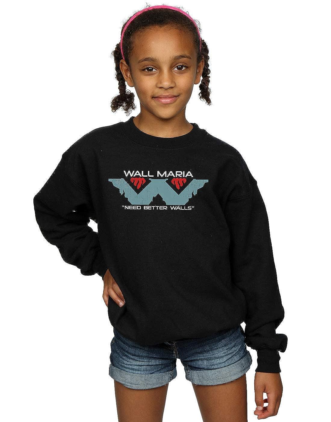 Ntesign Girls Wall Corp Sweatshirt