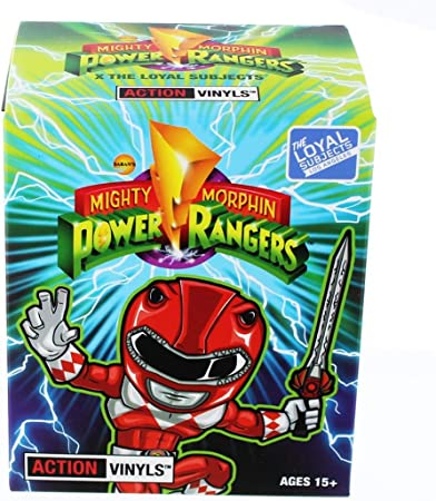 """Mighty Morphin Power Rangers Blind Box 3/"""" Action Vinyls Series 2 Set of 3"""
