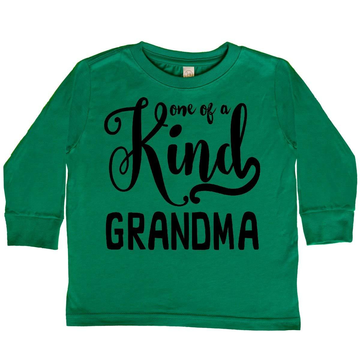 inktastic Gift for Grandmas 1 of a Kind Grandma Toddler Long Sleeve T-Shirt