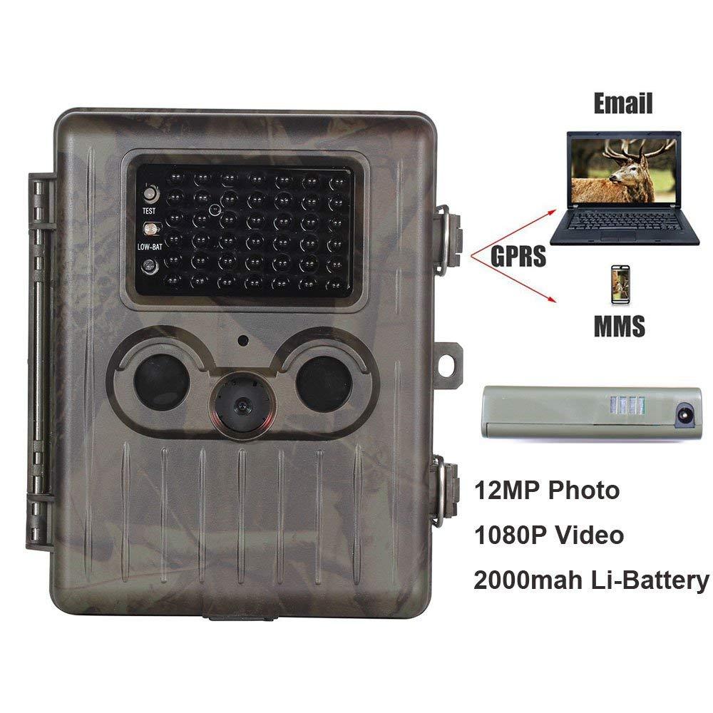 【完売】  3g 狩猟カメラ充電式 12MP 60 度 PIR センサー2.5 インチ画面フィールドトラッキングカメラ   B07Q6MMQC1, 家具インテリアのフォーリーフ a6cad7e5