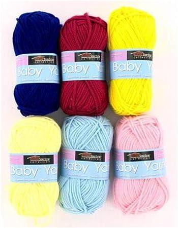 Bebé esterlina ovillo de lana para caja de - (con texto en inglés) de la 96: Amazon.es: Amazon.es