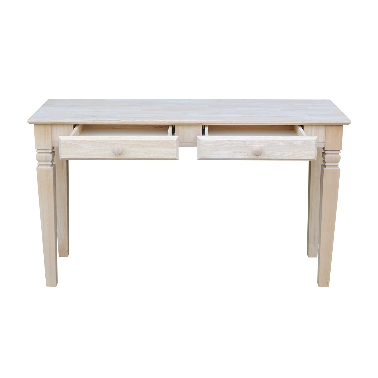 Amazon international concepts ot 60s2 java sofa table with 2 amazon international concepts ot 60s2 java sofa table with 2 drawers unfinished kitchen dining geotapseo Images
