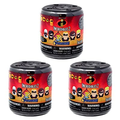 Mashems Incredibles (3 Pack): Toys & Games