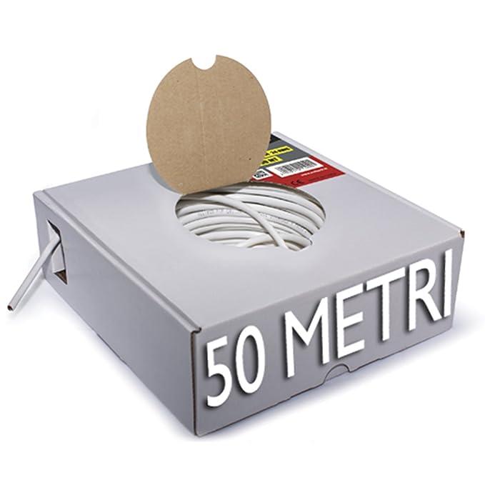 Schema Cablaggio Rete Lan Domestica : Kit pinza a crimpare crimpatrice cavo di rete 50mt plug gommini