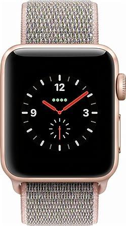 Amazon.com: Apple Watch Series 3 38 mm. Smartwatch (GPS + ...