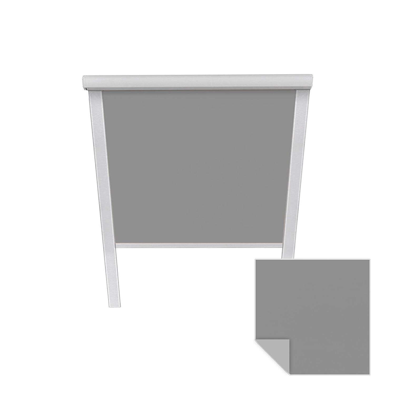 Victoria M. Verdunkelungsrollo passend für Velux-Dachfenster S06 606 04 grau