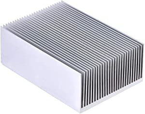 "SamIdea 4.4"" x 2.7"" x 1.4"" Aluminum Heatsink Cooling Fin Cooler for Led IC Module Or Computer"