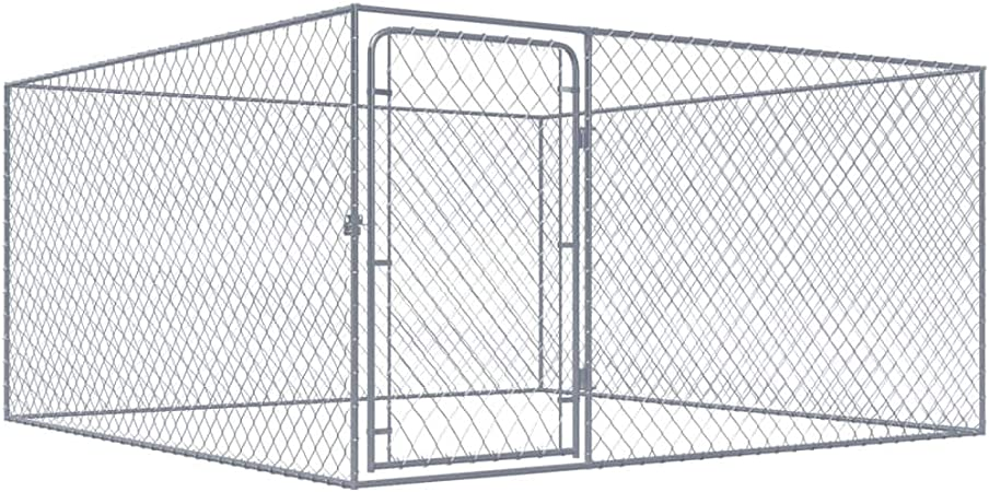 Tidyard Chenil Extérieur | Clôture Cage Enclos Jardin Chenil ...