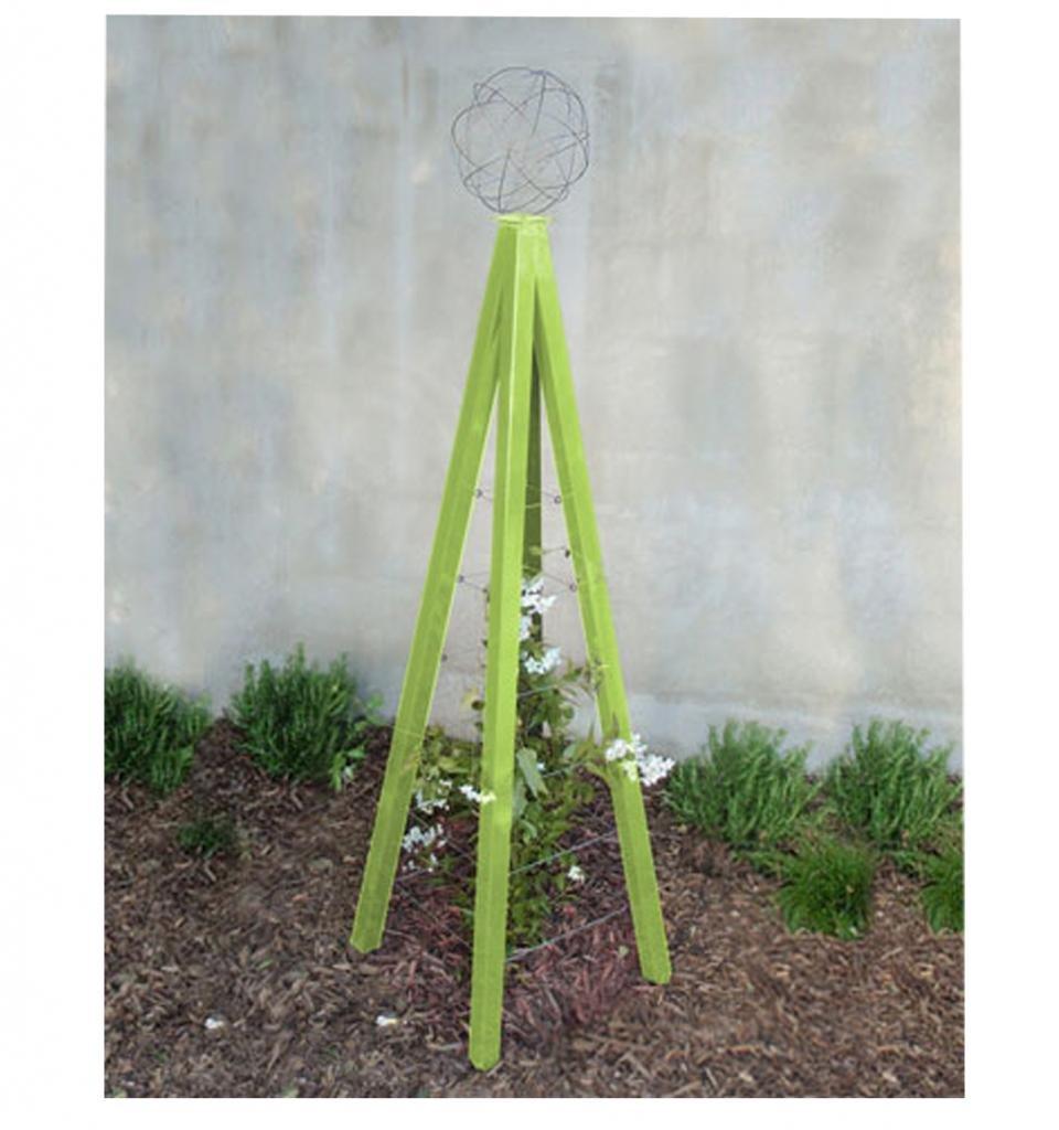 Terra Trellis - Akoris Garden Tuteur Jr. (Leaf / Chartreuse)
