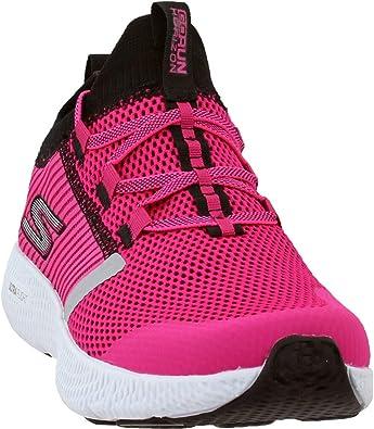 Skechers Womens GOrun Horizon Running Athletic Shoes, Black;Pink ...