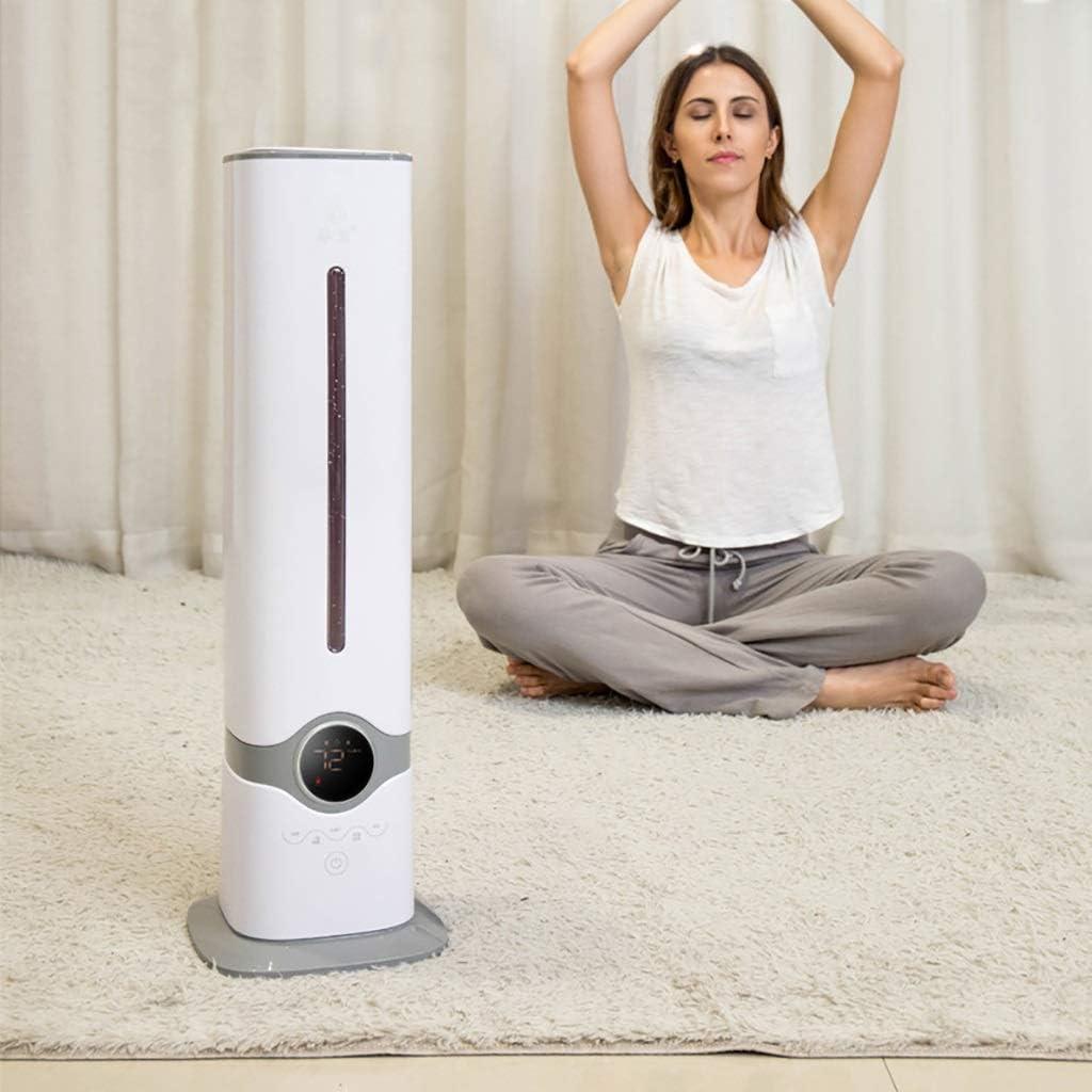 XPfj Luchtbevochtiger Voeg Water Huishoudelijke Mute Slaapkamer Toren Ventilator Vloer Staande Intelligente Constante Vochtigheid Wit 68cm (Kleur : Mechanisch) Afstandsbediening a211Hd63